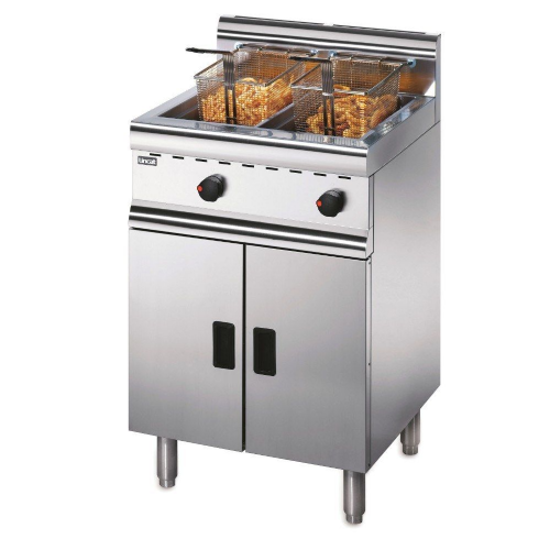 Lincat Silverlink 600 J10/N Natural Gas Twin Tank Fryer